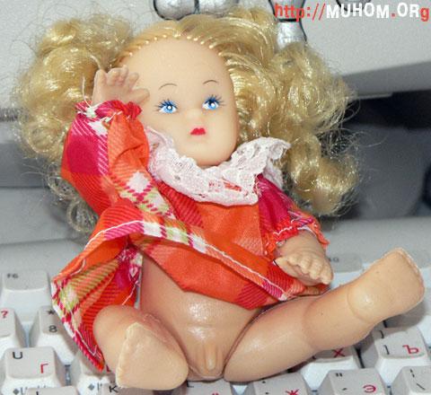 Кукла с писькой