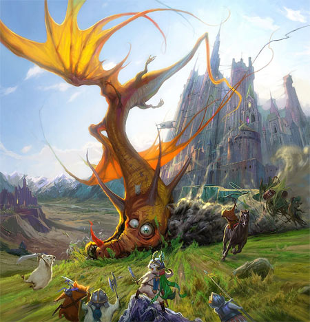 Хомяки против дракона