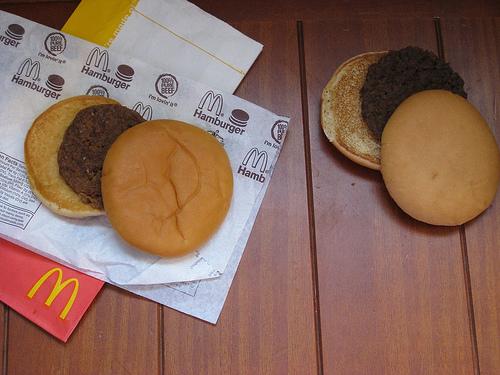 Гамбургер, купленный в 2008 г.