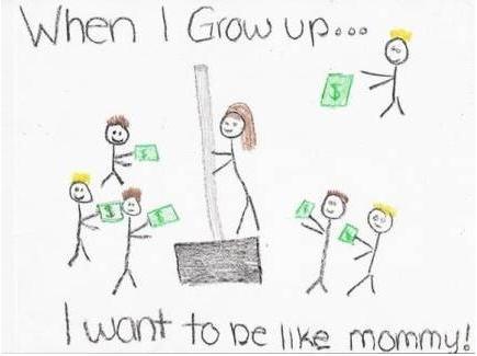 Когда я вырасту… Я хочу быть как мама!