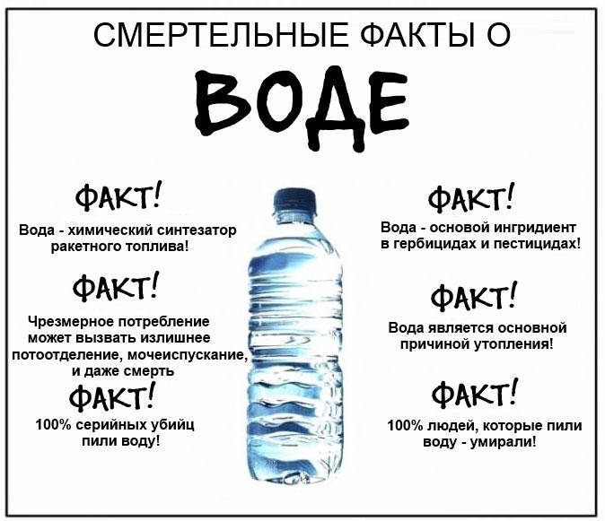 Страшная правда о воде