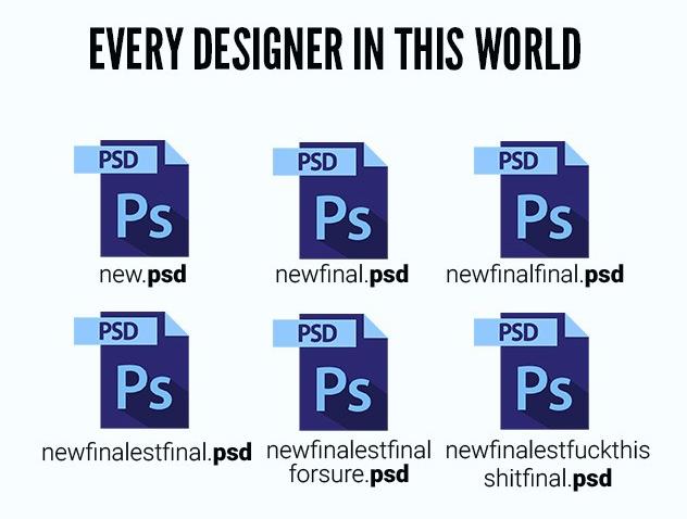 У всех дизайнеров в мира
