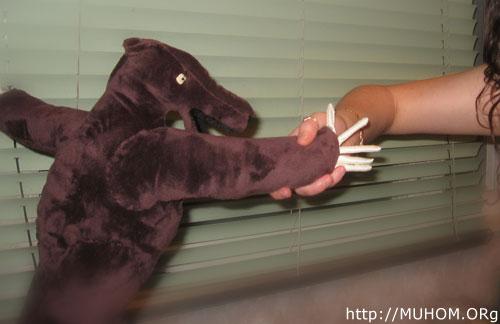 Медвед ручной работы