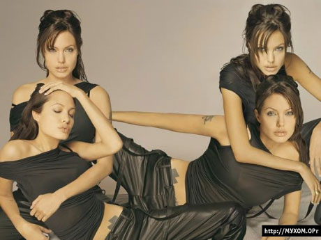 4 Анджелины Джоли