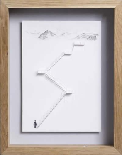 вырезать лестницу