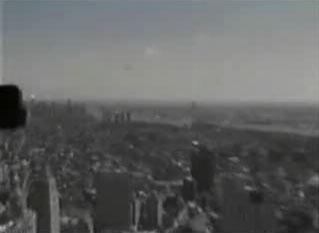 НЛО в небе Нью Йорка
