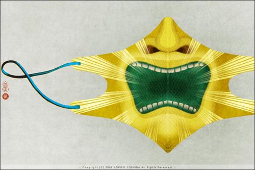 Фото: Дизайнерские марлевые повязки