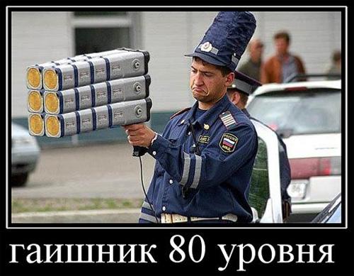 Гаишник 80 уровня