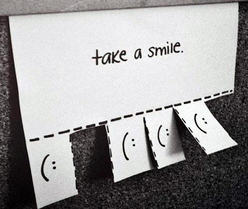 Возьми смайлик (Take a smile)