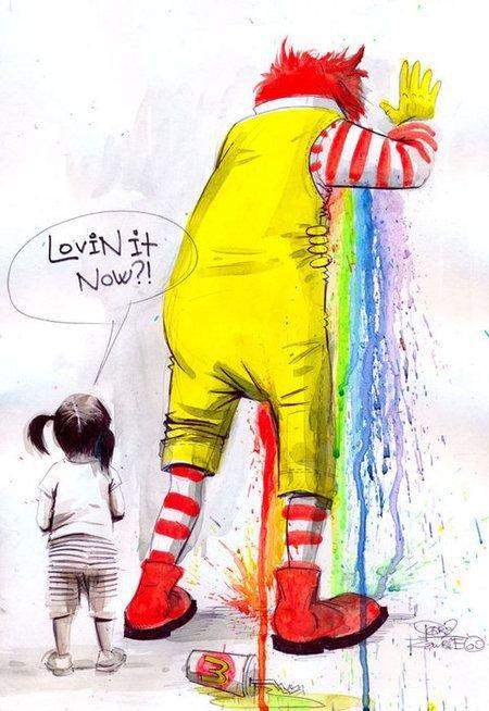 Макдоналдс. Вот что я люблю.
