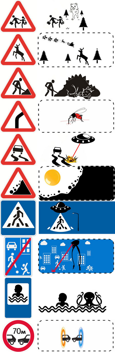 Что скрывают от водителей. Правда о дорожных знаках.