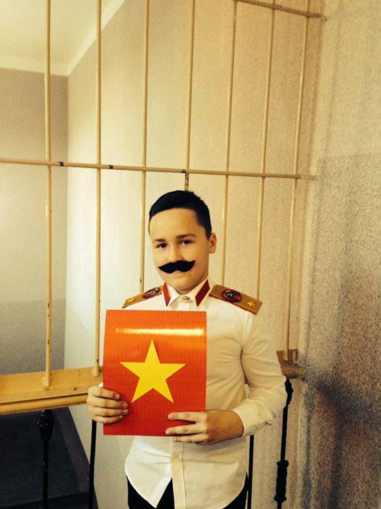 детский костюм Сталина